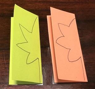 もみじ 画用紙 作り方