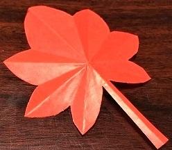 もみじ 折り紙 幼稚園