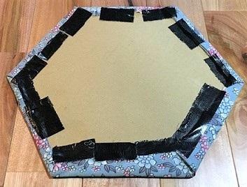 牛乳パック 椅子 カバー 制作