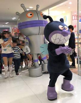 福岡アンパンマンこどもミュージアムinモール バイキンマンとだだんだんの行進