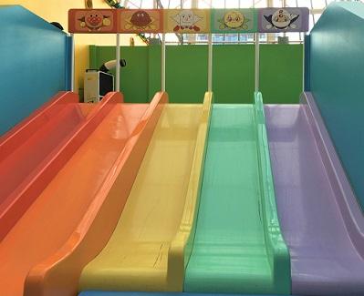 福岡アンパンマンこどもミュージアムinモール 虹色滑り台