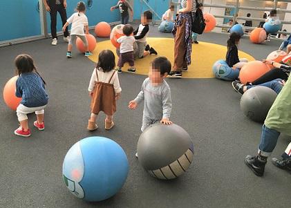 福岡アンパンマンこどもミュージアムinモール ボール広場