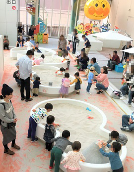 福岡アンパンマンこどもミュージアムinモール 砂場広場