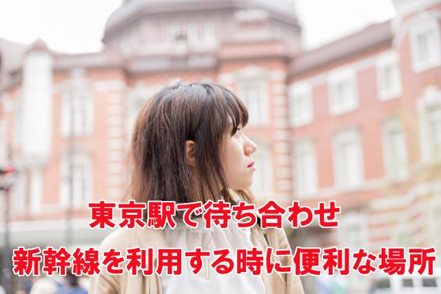 東京駅で待ち合わせ 新幹線利用時