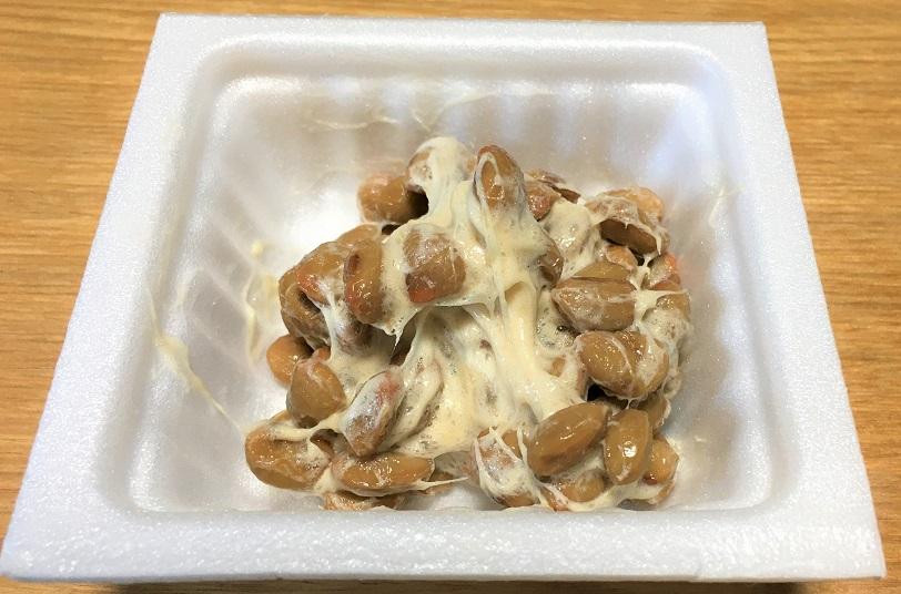 お箸で100回かき回した納豆